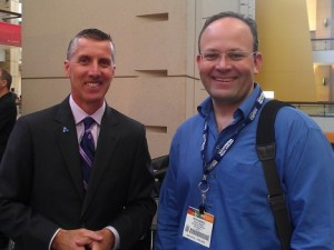Doug Woods and Peter Bagwell at IMTS 2012