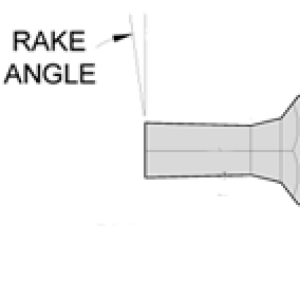 Hex Rotary Broach Custom Rake Angle