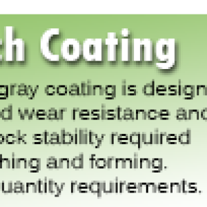 Punch Coating for Rotary Broaches