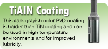 TiAlN Coating for Wobble Broaches