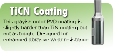 TiCN Coating for Wobble Broaches