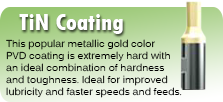 TiN Coating for Rotary Broaches