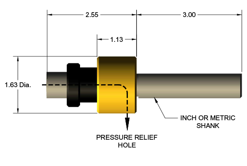External Rotary Broach Tool Holder Diagram